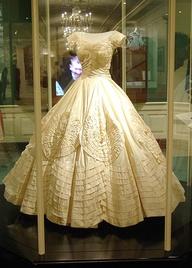 Jackie O's wedding dress by Valentino